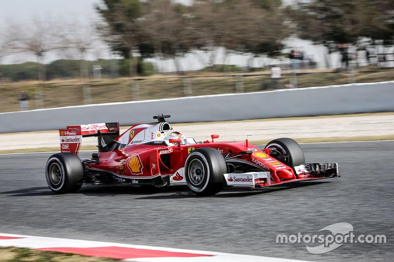 Bestzeit am 2. Tag: Sebastian Vettel, Ferrari SF16-H