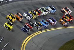 Matt Kenseth, Joe Gibbs Racing Toyota, Kyle Busch, Joe Gibbs Racing Toyota