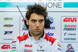 Инженер Team LCR Honda Марко Барбиани
