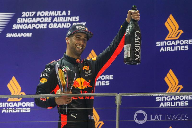 2e : Daniel Ricciardo (Red Bull Racing)
