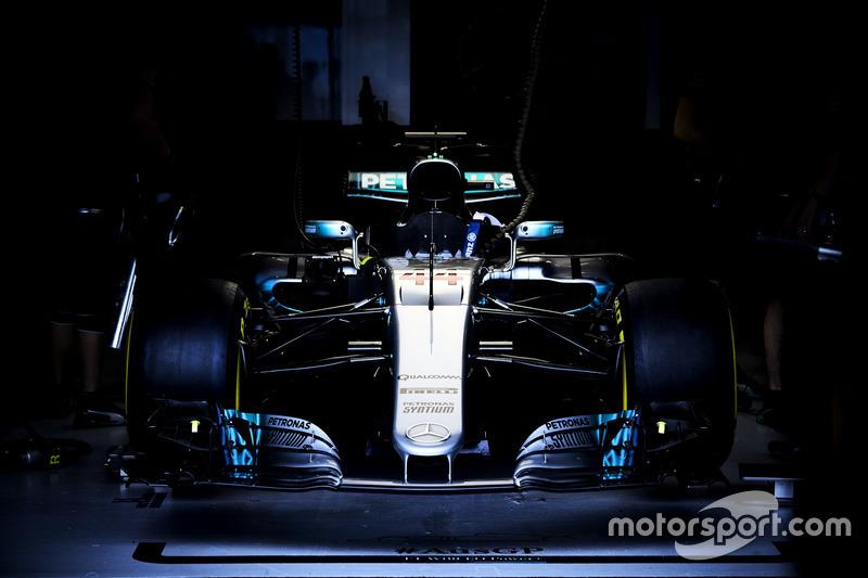 Auto de Lewis Hamilton, Mercedes AMG F1 W08
