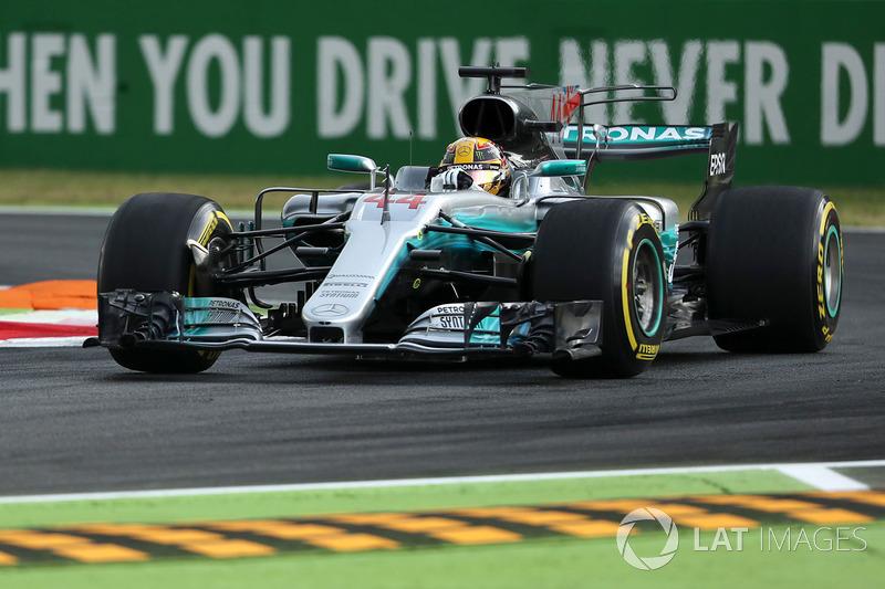 Льюіс Хемілтон, Mercedes AMG F1 F1 W08