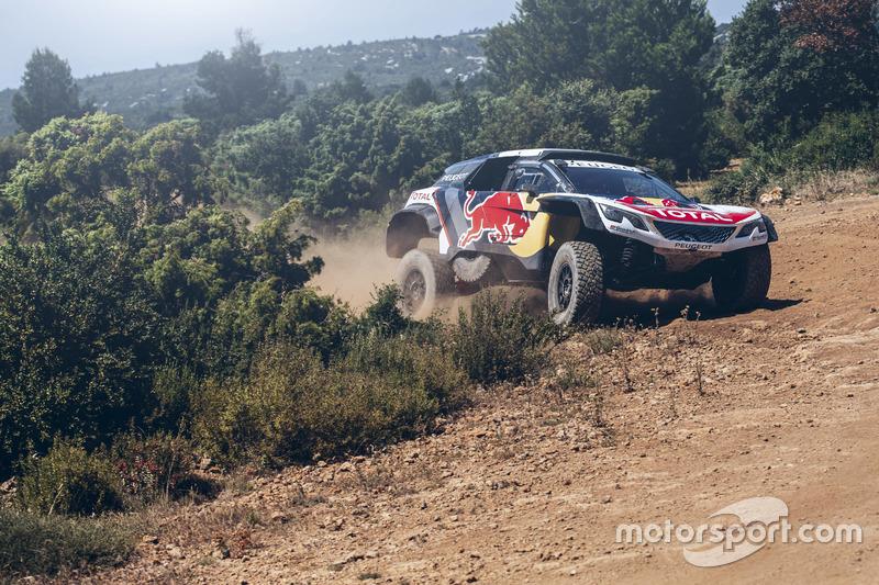Карлос Сайнс, Peugeot 3008 DKR, Peugeot Sport