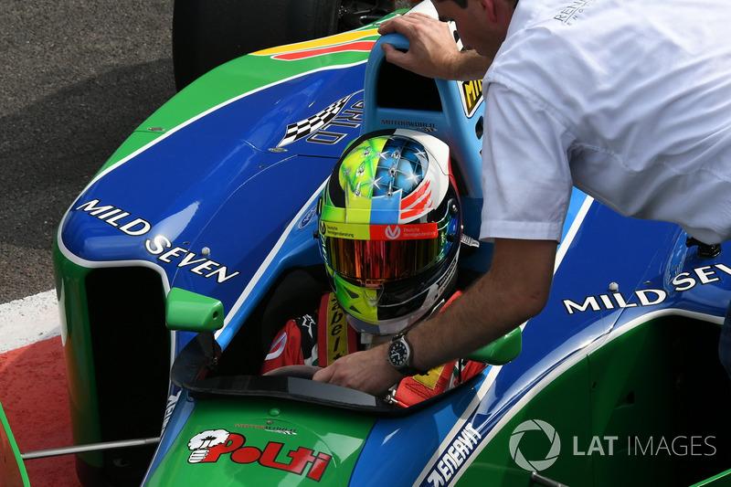 Otro Schumacher piso Spa este domingo