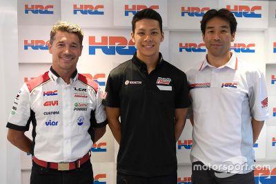 Nakagami LCR Honda anuncio
