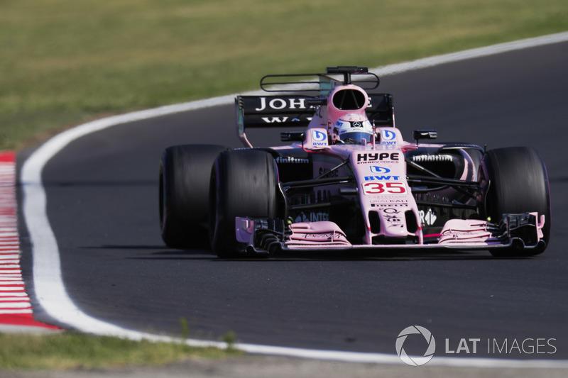 Лукас Ауер, Sahara Force India F1 VJM10