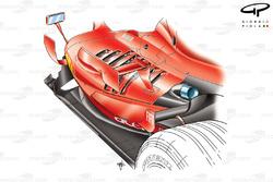 Ferrari F2007 (658) 2007 sidepod cooling vents