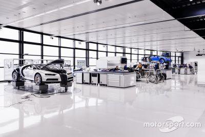 Werksbesuch bei Bugatti