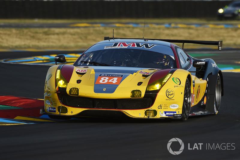 1. GTE-Am: #84 JMW Motorsport, Ferrari 488 GTE