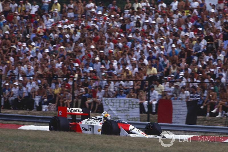 Ayrton Senna, McLaren MP4/4 Honda