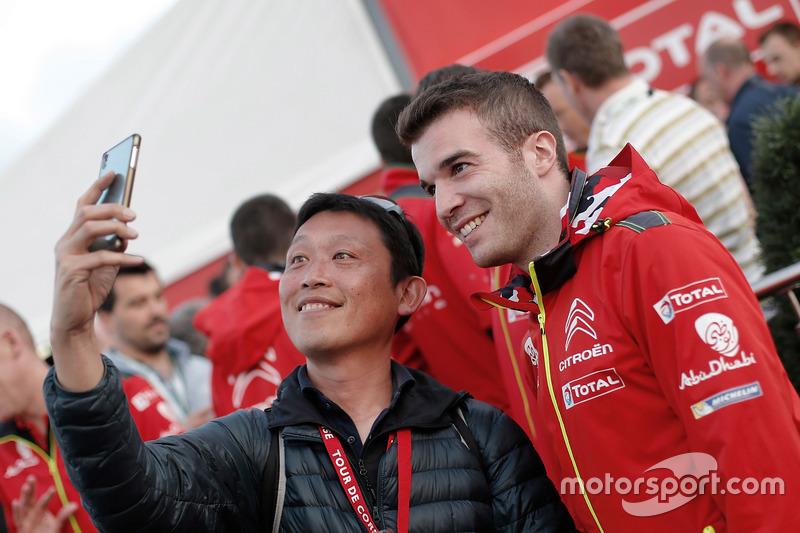 Gabin Moreau, Citroën World Rally Team