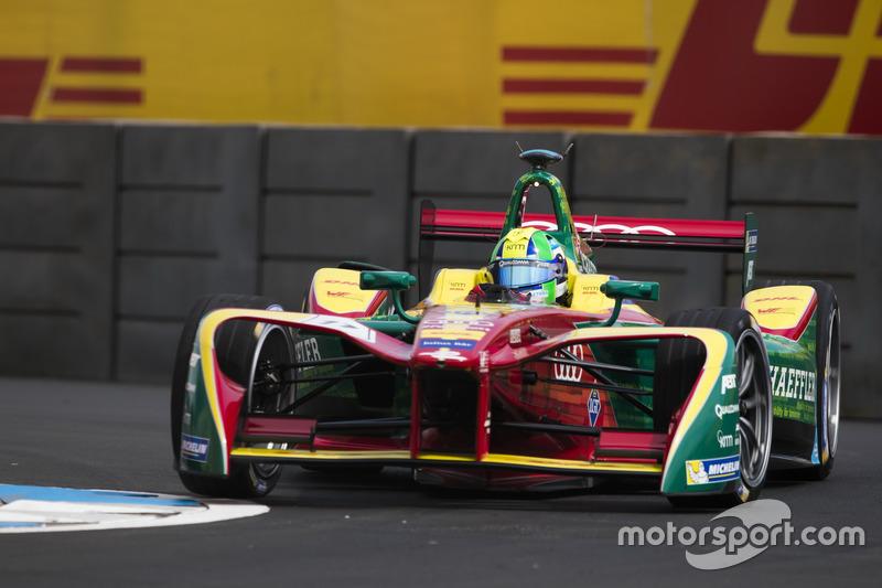 На четвертом этапе в Мехико первую победу в сезоне одержал прошлогодний вице-чемпион Лукас ди Грасси