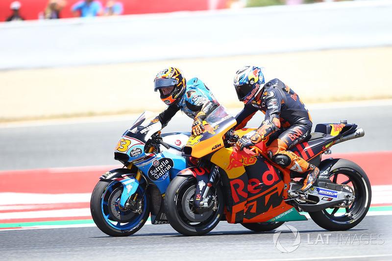 Тито Рабат, Estrella Galicia 0,0 Marc VDS, и Пол Эспаргаро, Red Bull KTM Factory Racing