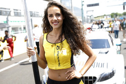 Grid girl of Pascal Wehrlein, Mercedes-AMG Team HWA