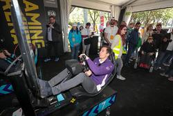 Alex Lynn, DS Virgin Racing, en la zona de juego