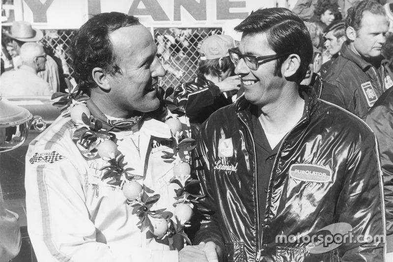 1972: #21 A.J. Foyt - Wood Brothers Mercury