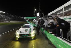#33 Riley Motorsports Mercedes AMG GT3, GTD: Jeroen Bleekemolen, Ben Keating, Adam Christodoulou, Luca Stolz, pit stop