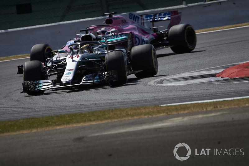 Льюіс Хемілтон, Mercedes AMG F1 W09, Серхіо Перес, Force India VJM11