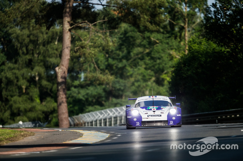 #91 Porsche GT Team Porsche 911 RSR: Richard Lietz, Gianmaria Bruni, Frédéric Makowiecki8