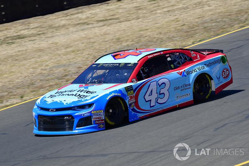 35. Darrell Wallace Jr., Richard Petty Motorsports, Chevrolet Camaro World Wide Technology