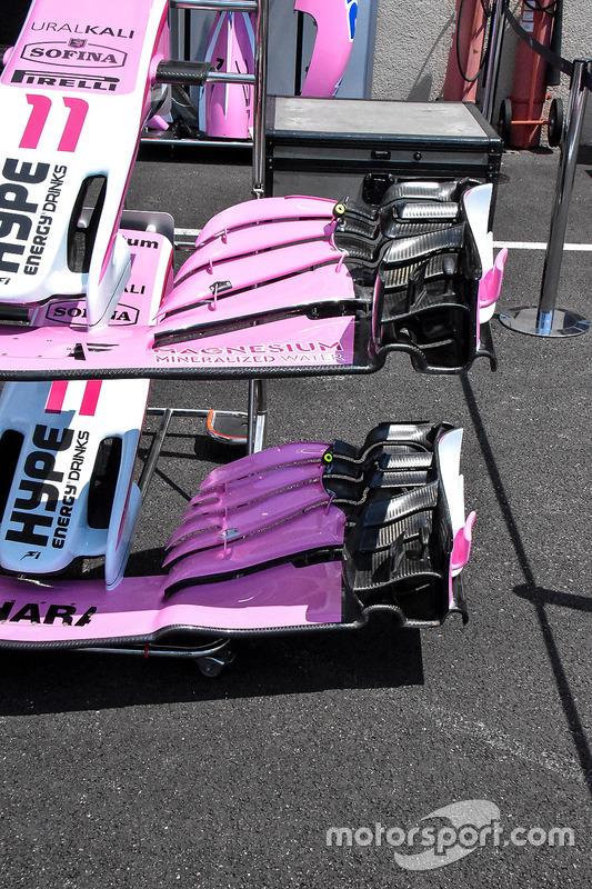 Передні антикрила Force India VJM11