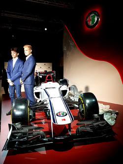 Marcus Ericsson and Charles Leclerc, Sauber