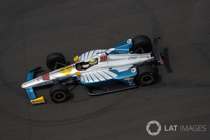22: Gabby Chaves, Harding Racing Chevrolet, 226.007