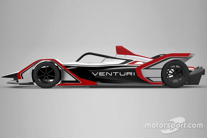 Автомобиль Venturi для Формулы E