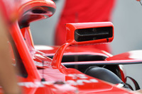 Ferrari SF71H wing mirror detail