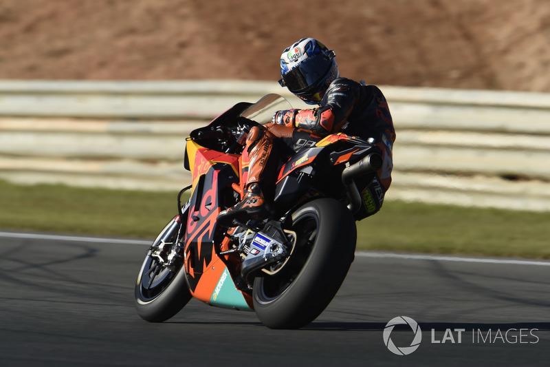 Start aus Boxengasse: Pol Espargaro, Red Bull KTM Factory Racing *