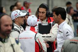 Mark Webber, Earl Bamber, Porsche Team