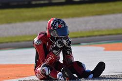 Aleix Espargaro, Aprilia Racing Team Gresini, nach Sturz