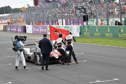 #8 Toyota Gazoo Racing Toyota TS050: Sébastien Buemi, Kazuki Nakajima, Fernando Alonso, vainqueur des 24 Heures du Mans