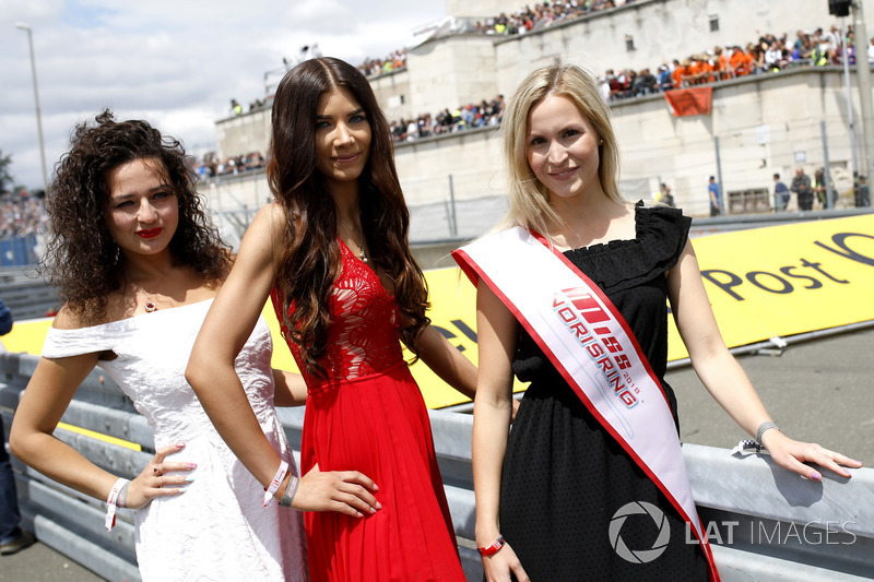 Miss Norisring on the grid