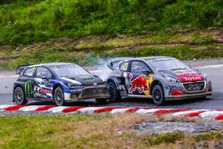 Petter Solberg, PSRX Volkswagen Sweden, Timmy Hansen, Team Peugeot Total