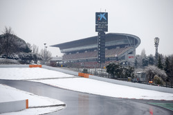 Snow covered circuit