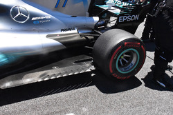Mercedes AMG F1 W08 diffuser detail