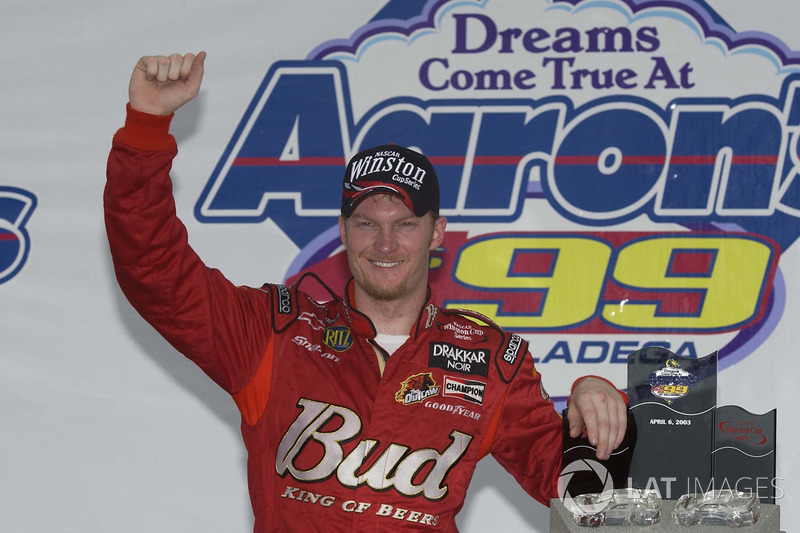 5. 2003: Dale Earnhardt Jr. wins fourth in a row