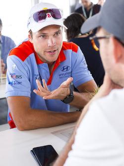 Andreas Mikkelsen, Hyundai Motorsport
