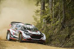 Elfyn Evans, Daniel Barritt, Ford Fiesta WRC, M-Sport