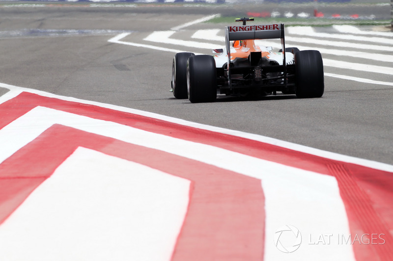Nico Hulkenberg, Force India F1 VJM05