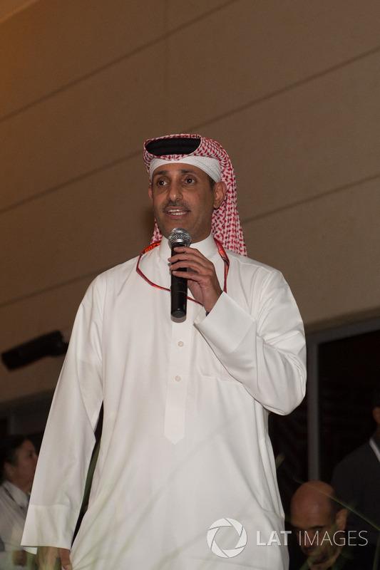 Shaikh Salman bin Isa Al Khalifa, Chief Executive of Bahrain International Circuit