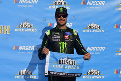 Polesitter Kurt Busch, Stewart-Haas Racing, Ford Fusion Monster Energy / Haas Automation