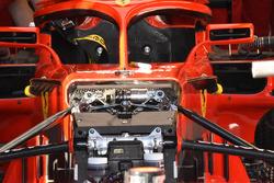 La suspension avant de la Ferrari SF71H