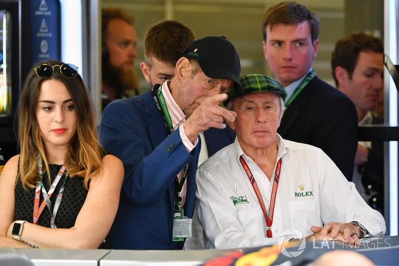 Jackie Stewart, con HRH il Duca del Kent