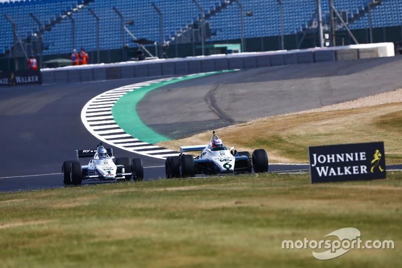 Дженсон Баттон, Williams FW08B 1982 року, Гай Мартін, Williams FW08C 1983 року