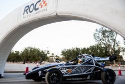 Khaled Al Qubaisi, prepares to drive in ROC Factor Middle East