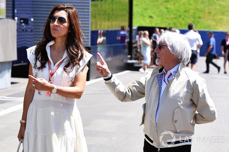 Bernie Ecclestone et Fabiana Ecclestone