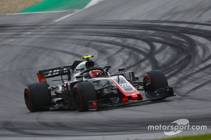 8: Kevin Magnussen, Haas F1 Team VF-18, 1'04.051