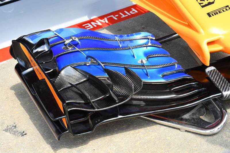 McLaren MCL33 nariz y alerón delantero